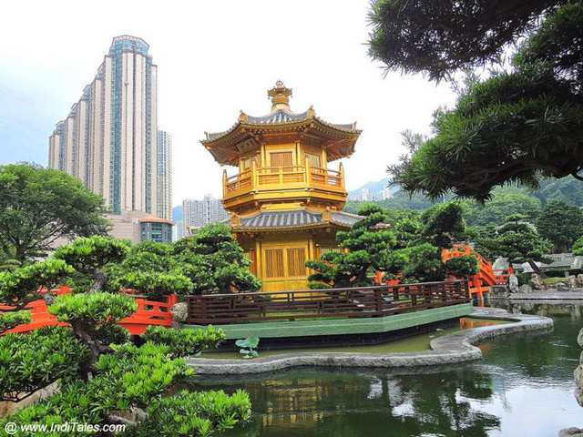 Nan Lian Garden made in Tang Architecture
