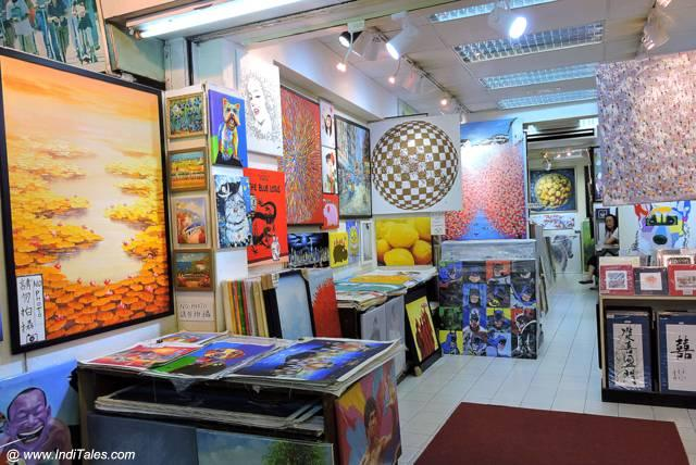 Contemporary Art Studio at Stanley Market - Hong Kong