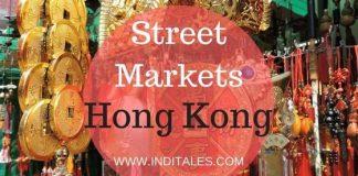 Hong Kong Street Markets - A Guide