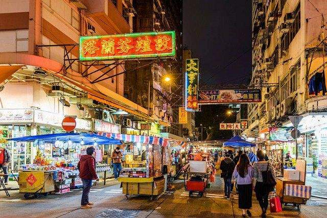 Temple Street Night Market - Hong Kong