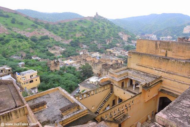 Hills around the fort