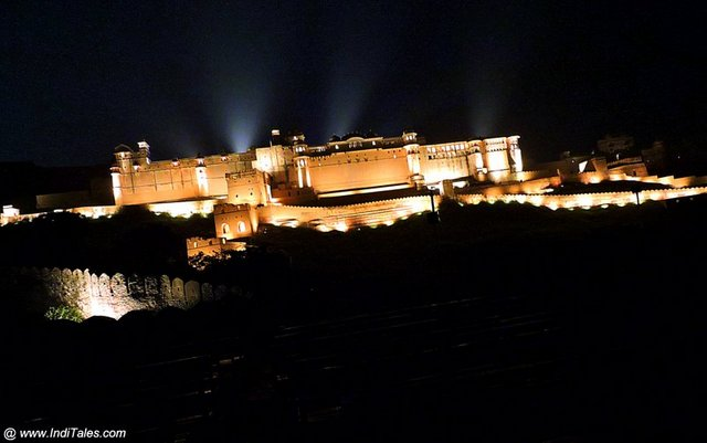 Light and Sound show at Amer Fort, Jaipur