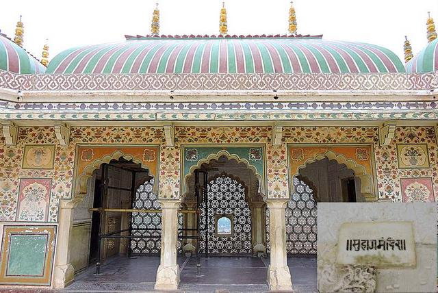Suhaag Mandir at Amer Fort
