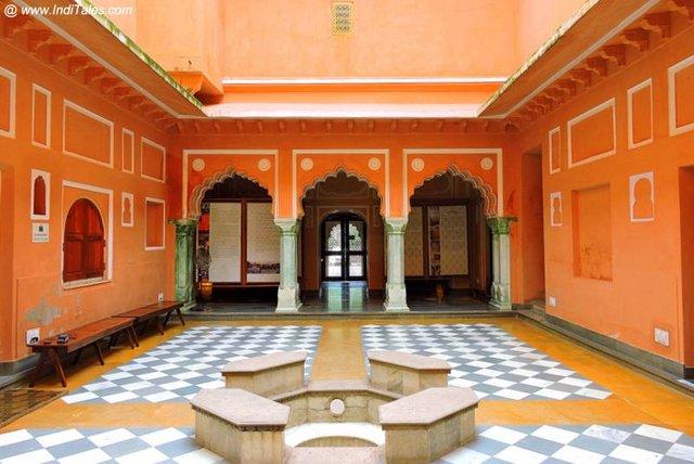 Restored Kanwar Palkhiwalon hi Haveli - Anokhi Museum