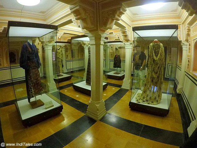 Textile Display at Anokhi Museum