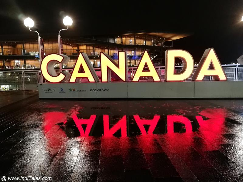 Canada Place Signboard