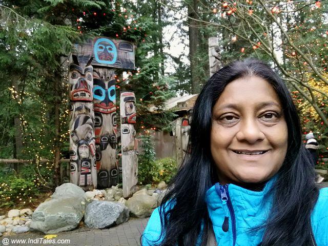 Anuradha Goyal, Totem Poles, Vancouver