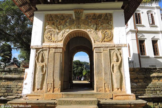 Ornate Door at the Temple of Tooth Relic