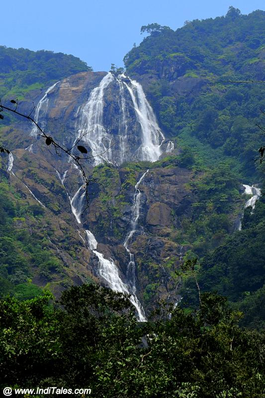 First View of Dudhsagar Falls