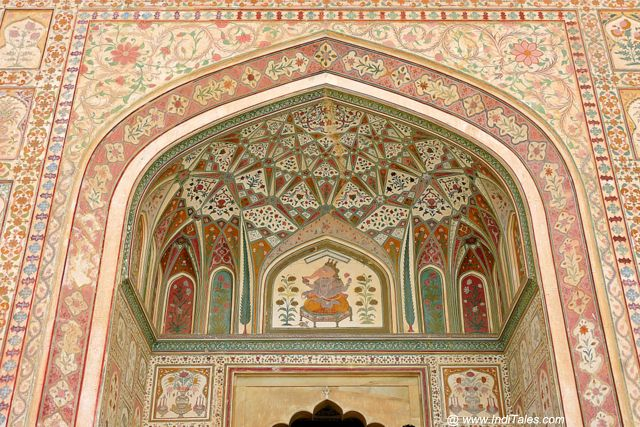 Ganesh Pol entrance at Amer Fort
