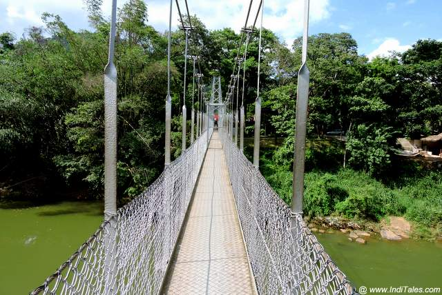 Hanging Bridge over Mahaveli River
