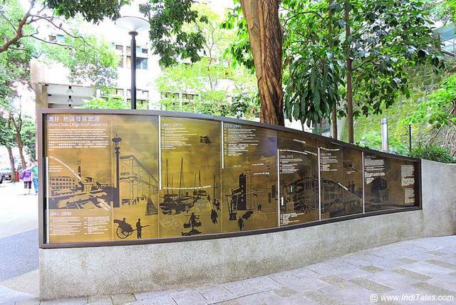 Heritage Walk Signboard