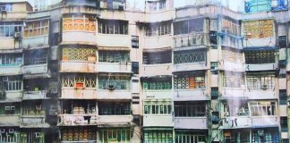 Houses of Wan Chai, Hong Kong