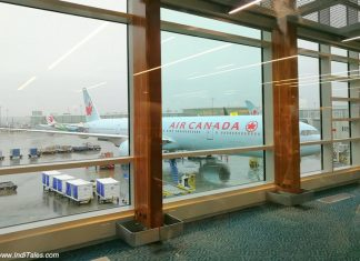 Air Canada Aircraft - Vancouver International Airport