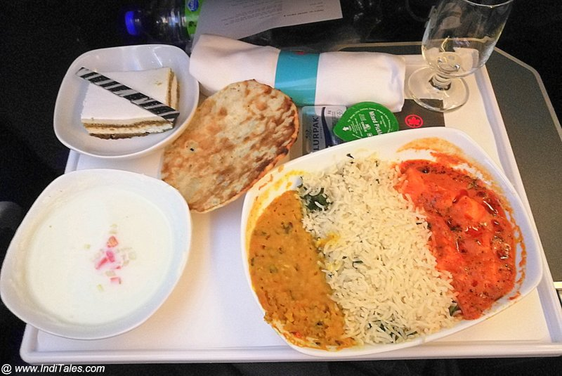 Vegetarian Food - Premium Economy - Air Canada