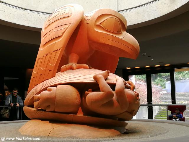 Bill Reid Yellow Cedar Sculpture