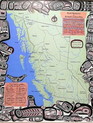 British Columbia First Nations Map