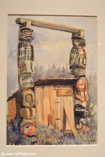 Totem Poles by Emily Carr