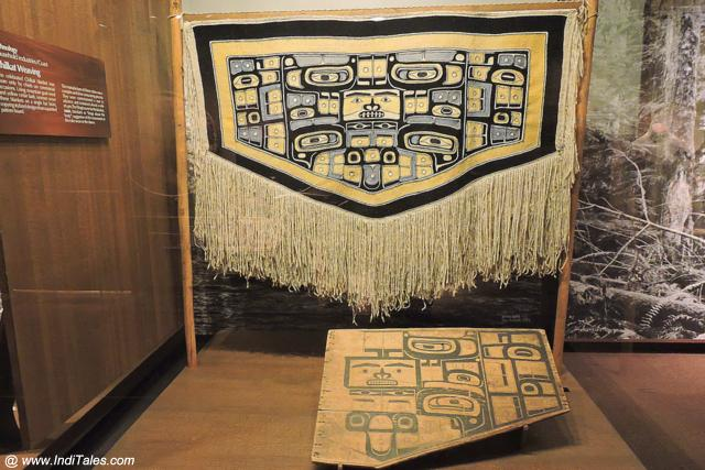 A Woven Ritual Blanket of First Nations Aboriginals