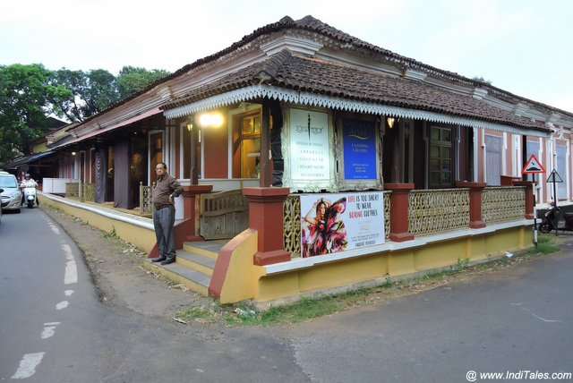 Heritage House Turned Boutique - Madgaon
