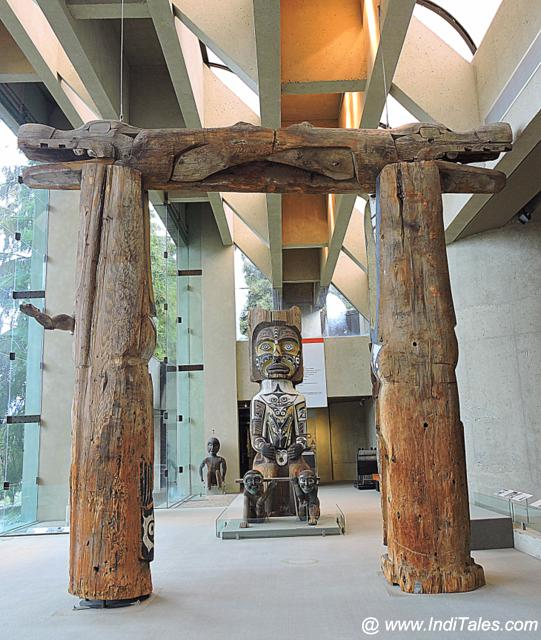 First Nations Art at Museum of Anthropology - Vancouver