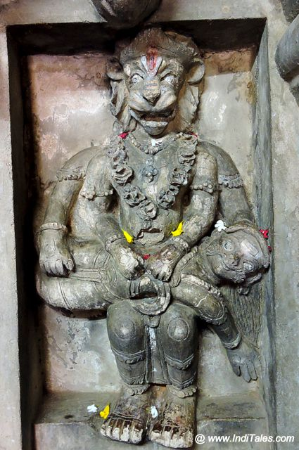 The Narasimha Avatar of Vishnu - Undavalli Caves