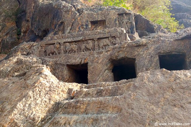 Smaller Caves at Undavalli Caves