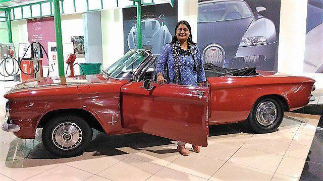 At Sharjah Vintage Car Museum