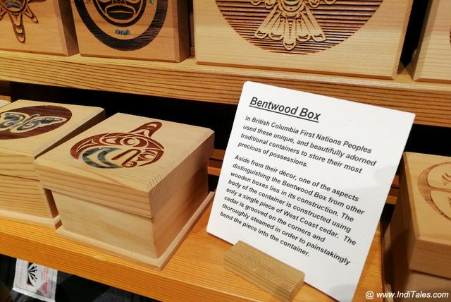 Bentwood Boxes in Red Cedar Wood