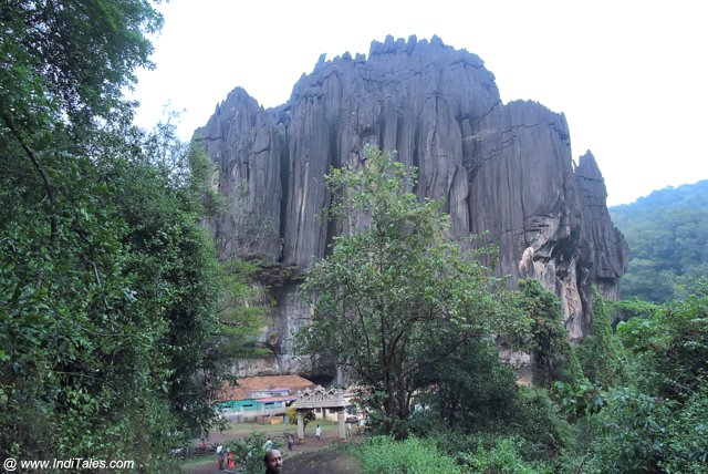 Bhairaveshwara Shikhara the bigger of the Yana Rocks