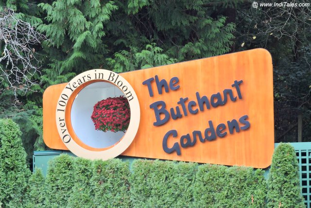 The Butchart Gardens - Victoria BC
