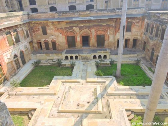 Char Bagh Gardens - Qila Mubarak - Patiala