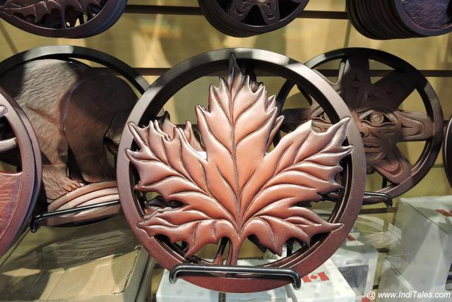 The Maple Leaf artifact as Canada Souvenir