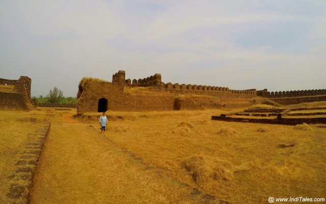 Vast interiors of Mirjan Fort
