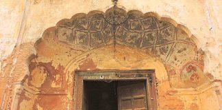 The Qila Mubarak Doorway - Patiala