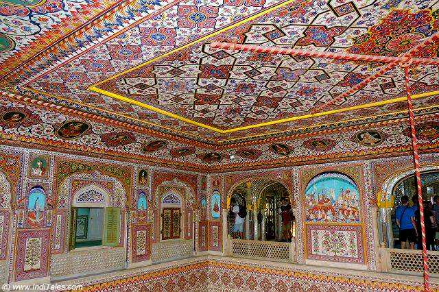 Samode Palace Durbar Hall