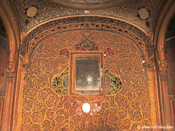 Ornate chambers of Qila Mubarak - Patiala