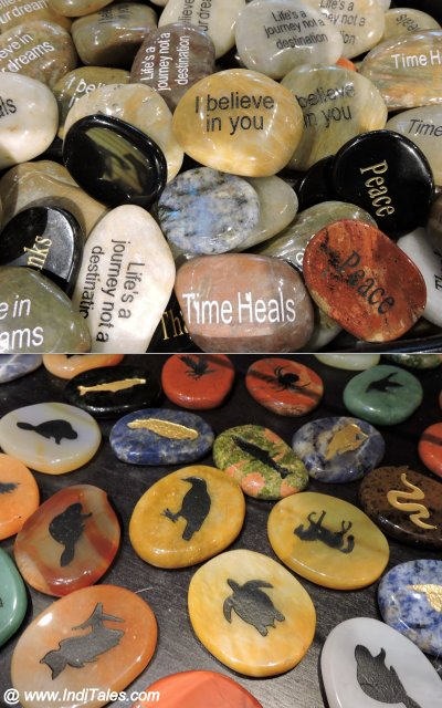 Stone Totems from Canada