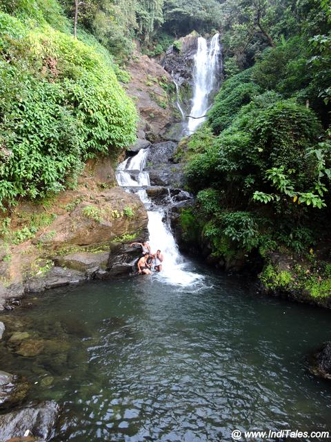 Vibhuti Falls in Uttara Kannada between Sirsi and Gokarna