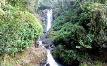 Vibhuti Falls in the Western Ghats of Uttara Kannada