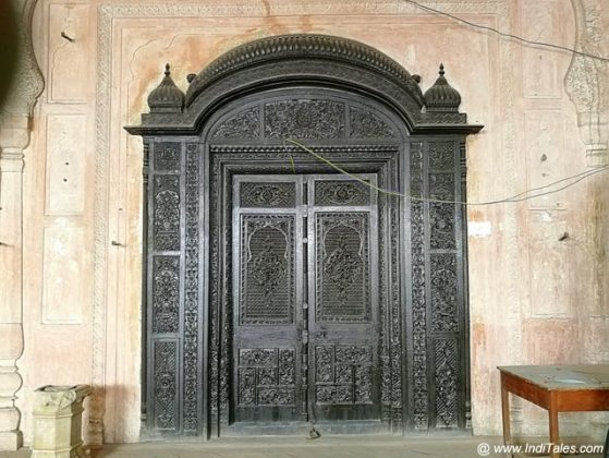 Carved Wooden Door - Durbar Hall - Qila Mubarak - Patiala