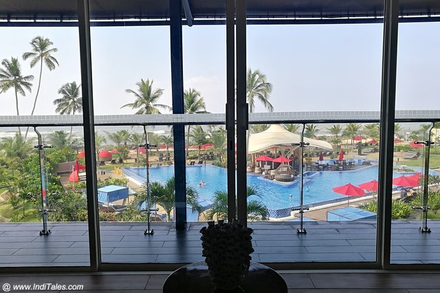 View from Voyager's Lounge at Amari Galle