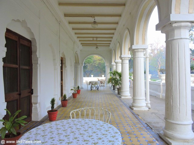The Baradari Palace Corridors - Neemrana Patiala