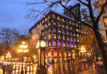 Gas Town & Its Steam Clock - Vancouver BC
