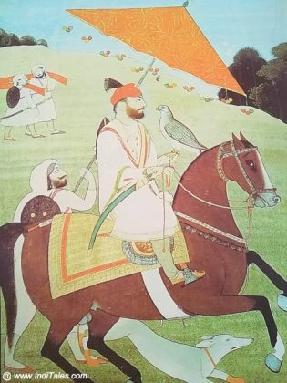 Mural - Guru Gobind Singh Riding a Horse