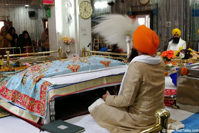 Inside Gurudwara Dukh Niwaran Sahib - Places to visit in Patiala