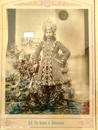 Maharaja Bahwalpur - Portrait at Neemrana Patiala
