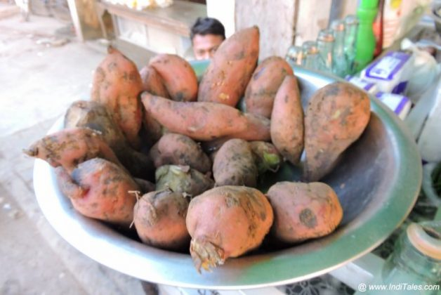Shakarkandi or Sweet Potato