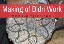 Making of Bidri Art
