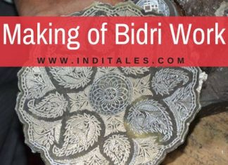 Making of Bidri Art